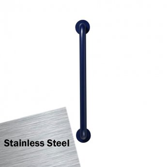 Armitage Shanks Contour 21 Straight Grab Rail 600mm Length - Stainless Steel