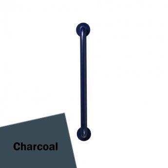 Armitage Shanks Contour 21 Straight Grab Rail 600mm Length - Charcoal