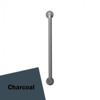 Armitage Shanks Contour 21 Straight Grab Rail 700mm Length - Charcoal