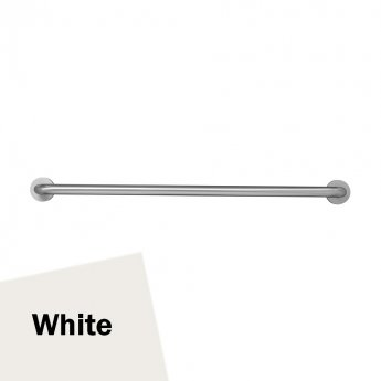 Armitage Shanks Contour 21 Straight Grab Rail 1000mm Length - White