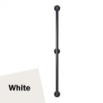 Armitage Shanks Contour 21 Straight Grab Rail 1200mm Length - White
