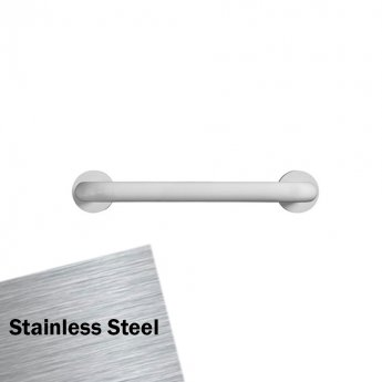 Armitage Shanks Contour 21 Rest Grab Rail for Support Cushion 400mm Length - Stainless Steel