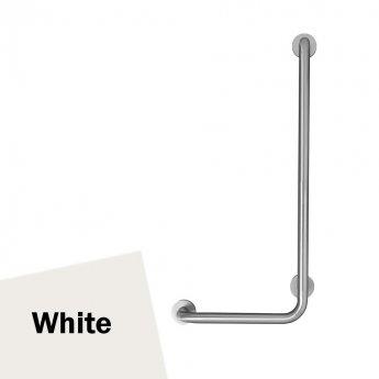 Armitage Shanks Contour 21 Angled Shower Grab Rail 900mm Length - RH White
