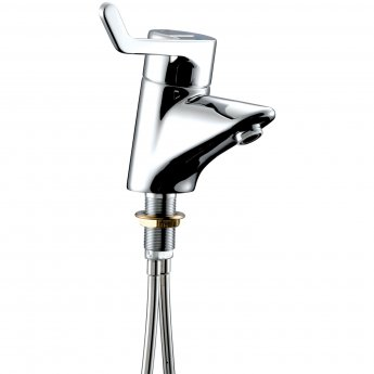 Armitage Shanks Contour 21 Single Lever Thermostatic Basin Mixer Tap with Copper Tail