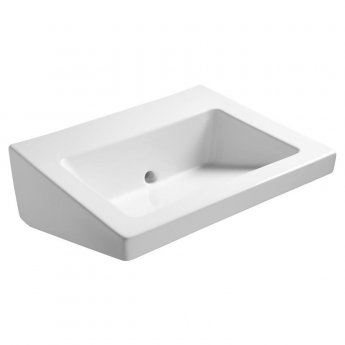 Armitage Shanks Leadenhall Wall Hung Back Outlet Basin 550mm Wide - 0 Tap Hole