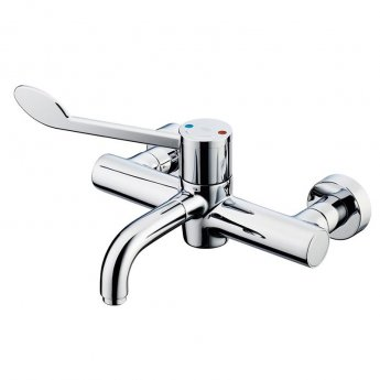 Armitage Shanks Markwik 21 Plus Thermostatic Panel Mounted Basin Mixer with Lever Detachable Spout