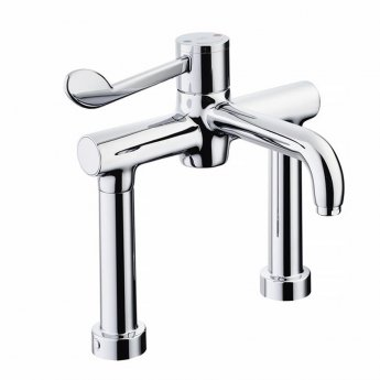 Armitage Shanks Markwik 21 Plus Thermostatic Deck Mounted Basin Mixer with Lever Fixed Spout