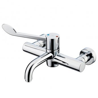 Armitage Shanks Markwik 21 Plus Thermostatic Panel Mounted Basin Mixer with Lever Fixed Spout