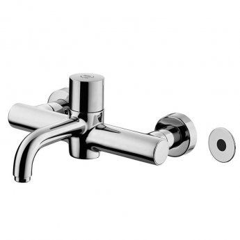 Armitage Shanks Markwik 21 Plus Thermostatic Panel Mounted Basin Mixer with Sensor Fixed Spout