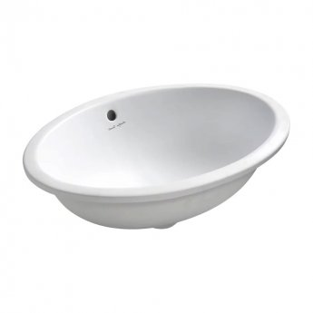 Armitage Shanks Marlow 21 Under-Countertop Basin 560mm W - 0 Tap Hole