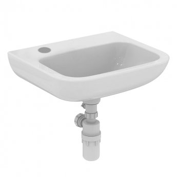 Armitage Shanks Portman 21 Wall Hung Cloakroom Basin No Overflow 500mm Wide - 1 LH Tap Hole
