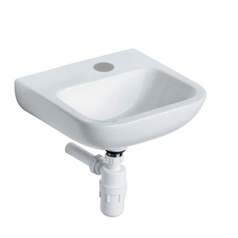 Armitage Shanks Portman 21 Wall Hung Cloakroom Basin No Overflow 400mm Wide - 1 RH Tap Hole
