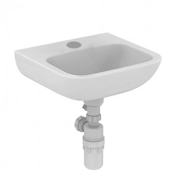 Armitage Shanks Portman 21 Wall Hung Cloakroom Basin No Overflow 400mm Wide - 1 Tap Hole