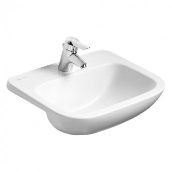 Armitage Shanks Profile 21 Semi Countertop Basin No Overflow 500mm Wide - 1 Tap Hole