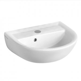 Armitage Shanks Sandringham 21 Wall Hung Basin 450mm Wide 1 Tap Hole