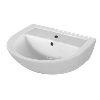 Armitage Shanks Sandringham 21 Wall Hung Basin 500mm Wide 1 Tap Hole