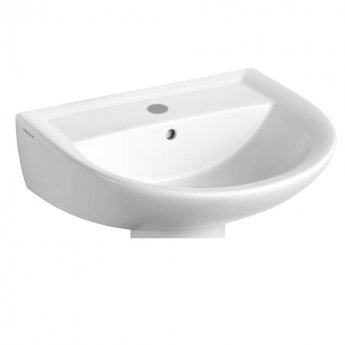 Armitage Shanks Sandringham 21 Wall Hung Basin 550mm Wide 1 Tap Hole