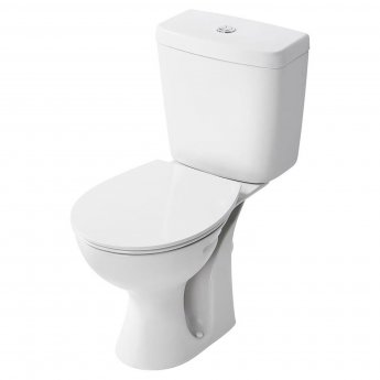 Armitage Shanks Sandringham 21 Close Coupled Toilet WC 4/2.6 Litre Cistern Hardwearing Seat