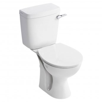 Armitage Shanks Sandringham 21 Close Coupled Toilet WC Lever Cistern Hardwearing Seat