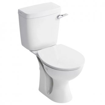 Armitage Shanks Sandringham 21 Close Coupled Toilet WC Lever Cistern - Soft Close Seat