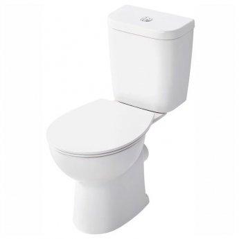 Armitage Shanks Sandringham 21 Close Coupled Toilet with Dual Flush Cistern - Soft Close Seat