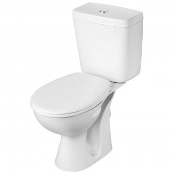 Armitage Shanks Sandringham 21 Boxed Close Coupled Toilet with Push Button Cistern - Standard Seat