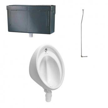 Armitage Shanks Sanura Hygeniq Single Urinal Pack with Concealed Auto Cistern