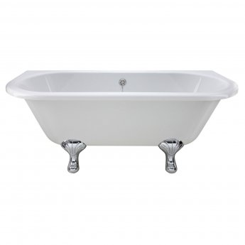Bayswater Courtnell Back-to-Wall Freestanding Bath 1690mm x 750mm