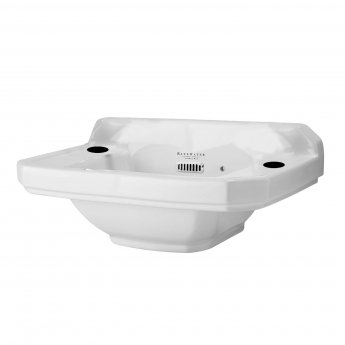 Bayswater Fitzroy Cloakroom Basin 515mm Wide 2 Tap Hole