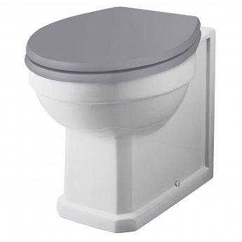 Bayswater Fitzroy Back to Wall Toilet Pan White