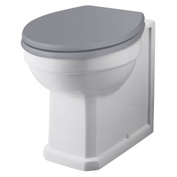 Bayswater Fitzroy Comfort Height Back to Wall Toilet Pan White