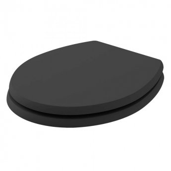 Bayswater Fitzroy Soft Close Toilet Seat Matt Black