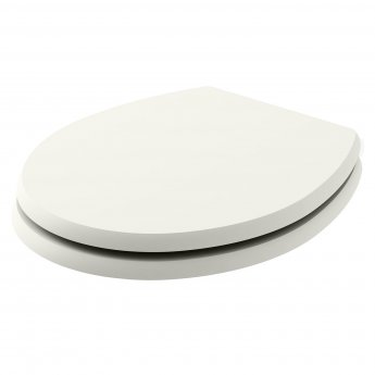 Bayswater Fitzroy Soft Close Toilet Seat Pointing White