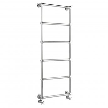 Bayswater Juliet Wall Mounted Traditional Towel Rail 1548mm x 598mm Chrome