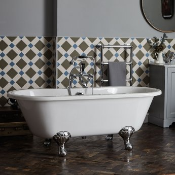 Bayswater Leinster Double Ended Freestanding Bath 1490mm x 745mm