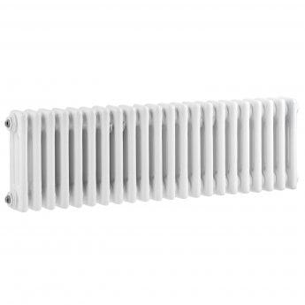 Bayswater Nelson 3-Column Horizontal Radiator 300mm High x 1011mm Wide White