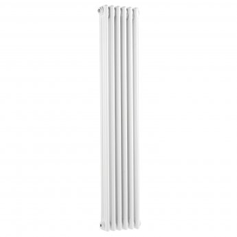 Bayswater Nelson 3-Column Vertical Radiator 1500mm High x 291mm Wide White