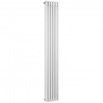 Bayswater Nelson 3-Column Vertical Radiator 1800mm High x 291mm Wide White