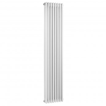 Bayswater Nelson 3-Column Vertical Radiator 1800mm High x 381mm Wide White