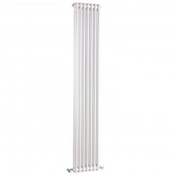 Bayswater Nelson 2-Column Vertical Radiator 1800mm High x 335mm Wide White