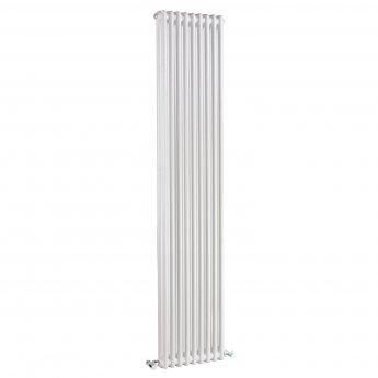 Bayswater Nelson 2-Column Vertical Radiator 1800mm High x 425mm Wide White