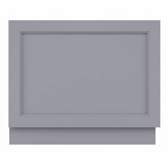 Bayswater Plummett Grey MDF Bath End Panel 700mm Wide