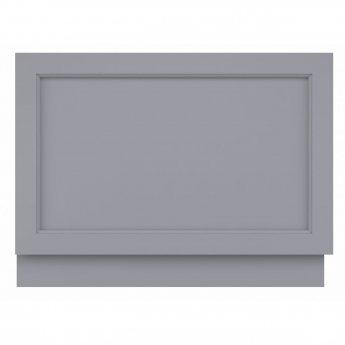 Bayswater Plummett Grey MDF Bath End Panel 800mm Wide