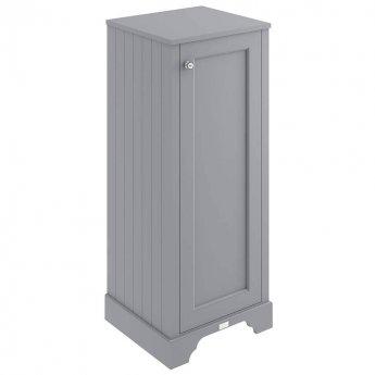 Bayswater Plummett Grey Tall Boy Storage Unit 465mm Wide