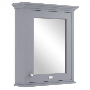 Bayswater Plummett Grey Bathroom Cabinet 750mm High x 650mm Wide