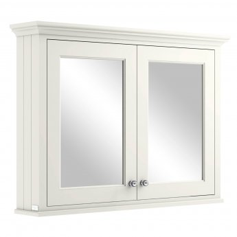 Bayswater Pointing White Bathroom Cabinet 750mm High x 1050mm Wide