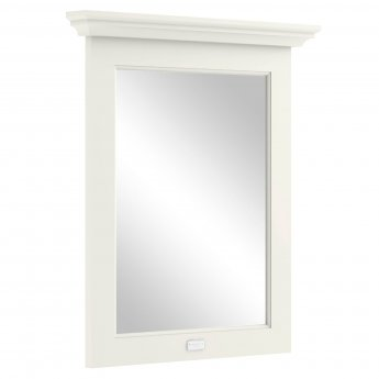 Bayswater Pointing White Bathroom Mirror 700mm High x 600mm Wide