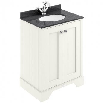 Bayswater Pointing White 2-Door Vanity Unit 600mm Wide (excluding Basin)