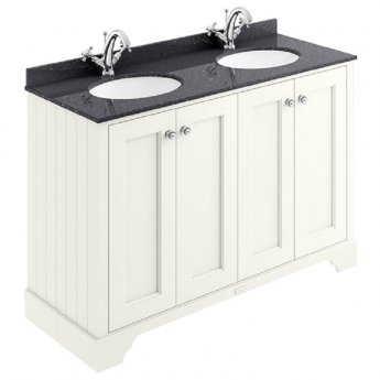 Bayswater Pointing White 4-Door Vanity Unit 1200mm Wide (excluding Basin)