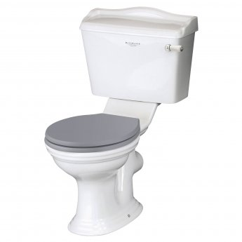 Bayswater Porchester Close Coupled Toilet with Lever Cistern (excluding Seat)